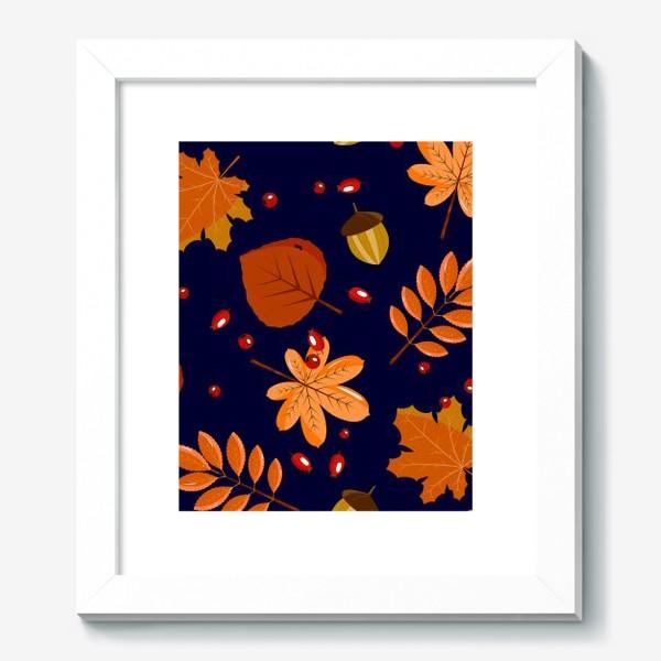 Картина «листья осенние»