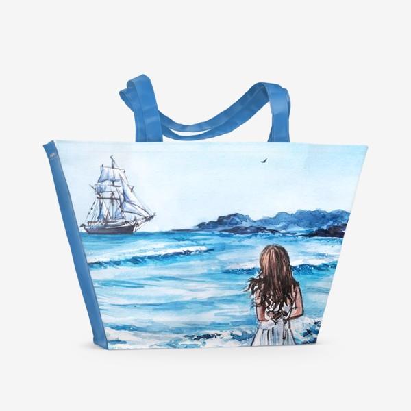 Пляжная сумка «В ожидании»
