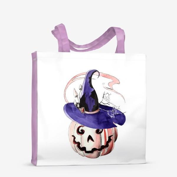 Сумка-шоппер «Тыква в волшебной шляпе»