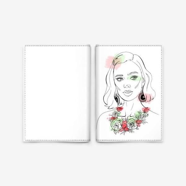 Обложка для паспорта «Сияние Авроры»