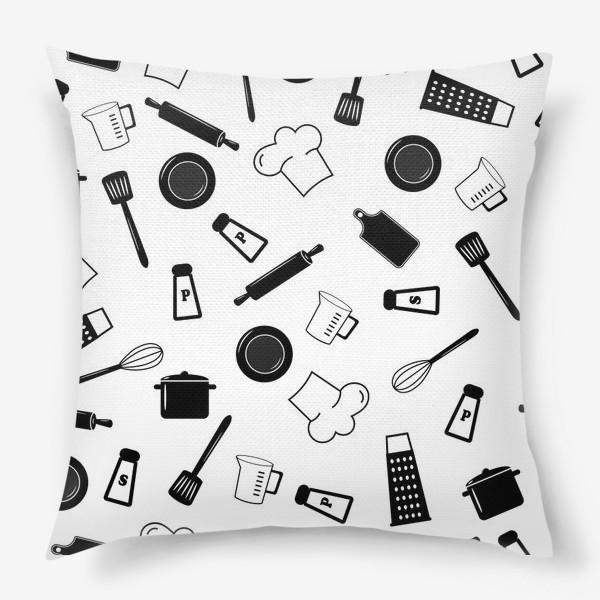 Подушка «Кухонная посуда»