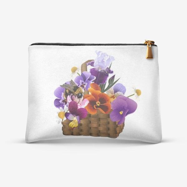 Косметичка «basket of flowers»