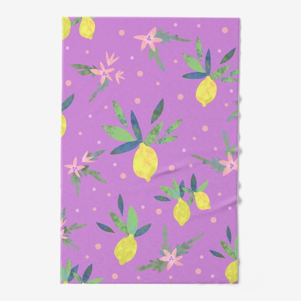Полотенце «Лимоны»