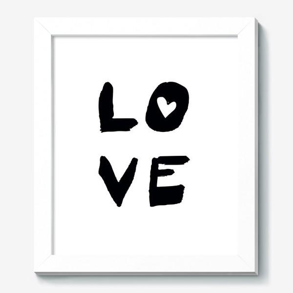 Картина «Надпись Love »