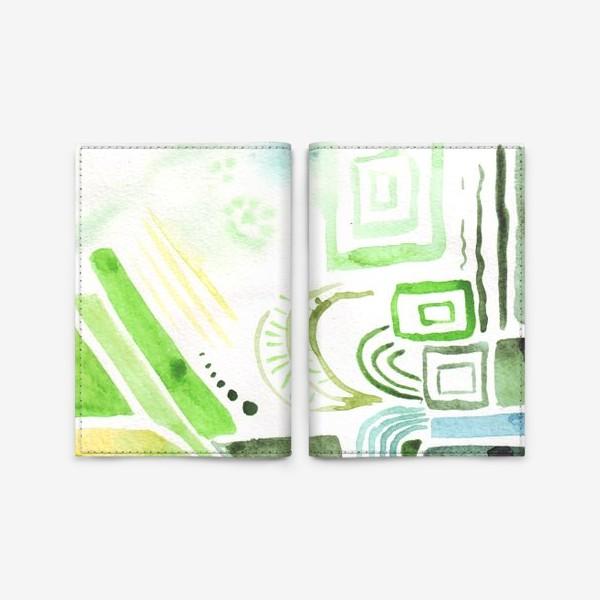 Обложка для паспорта «Акварельные фантазии 2»