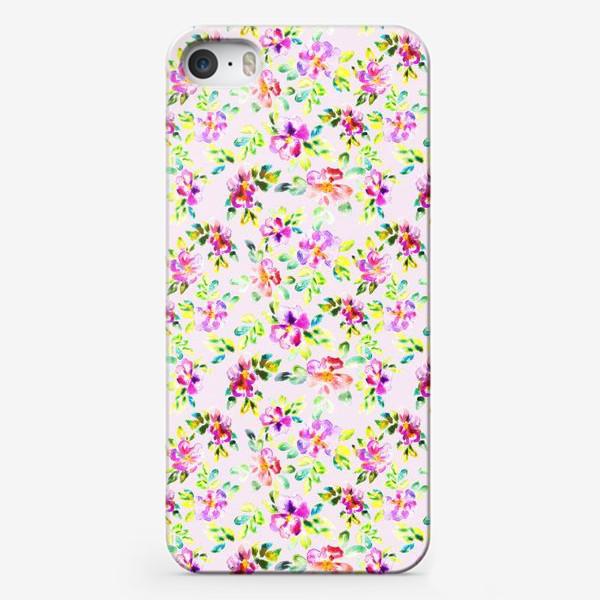 Чехол iPhone «Шиповник»