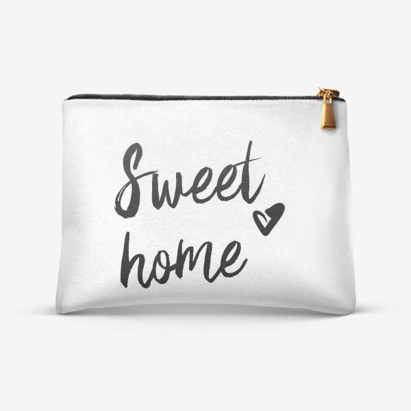 Косметичка «Надпись | Милый дом | Sweet home»