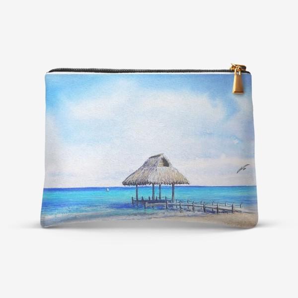 Косметичка «Пляж»