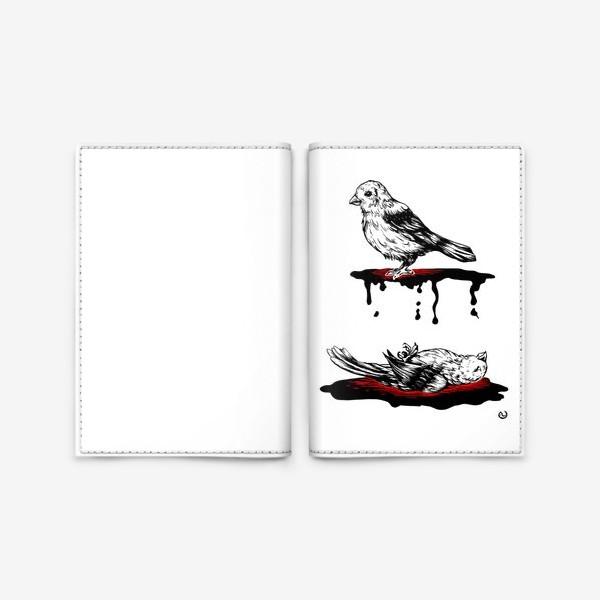Обложка для паспорта «Birdz»