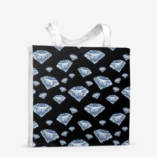 Сумка-шоппер «алмаз»