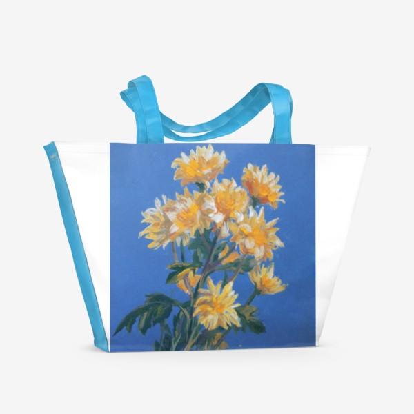 Пляжная сумка «Flowers»