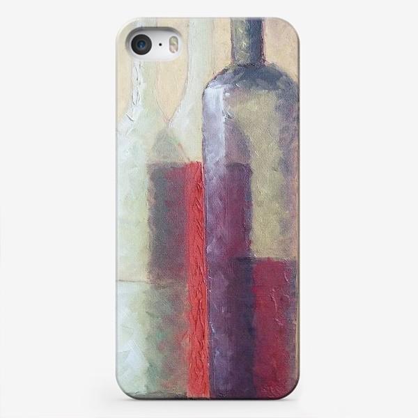 Чехол iPhone «Натюрморт с бокалом»