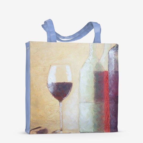 Сумка-шоппер «Натюрморт с бокалом»