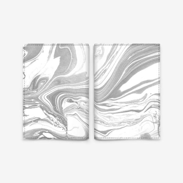 Обложка для паспорта «Marble»