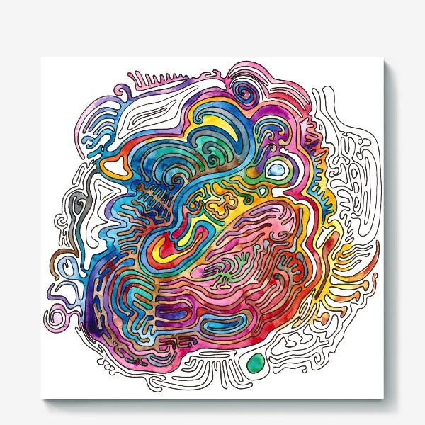 Холст «Watercolor Doodle»