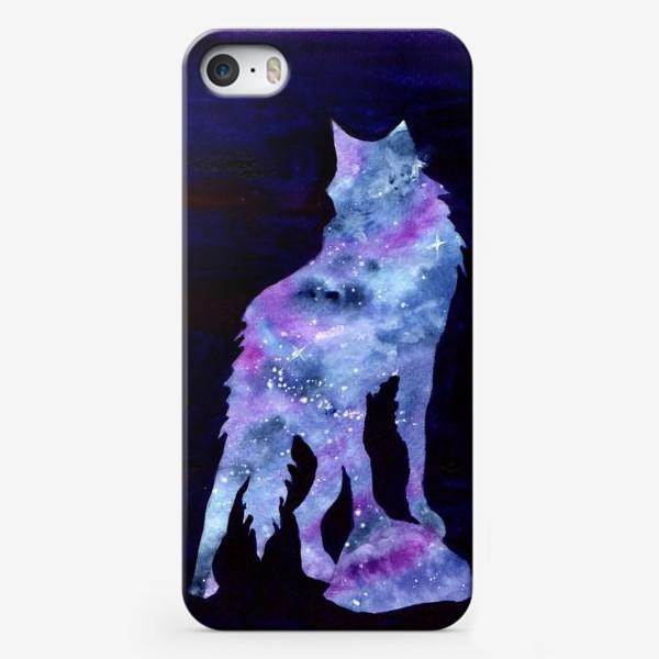 Чехол iPhone «Звездный волк»