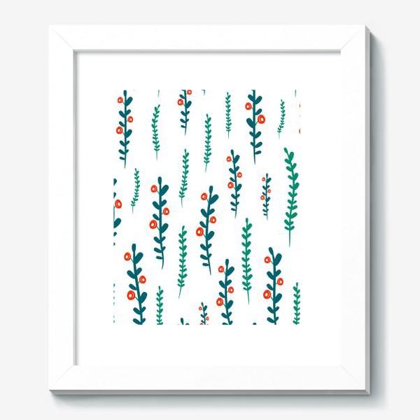 Картина «веточки с ягодами»