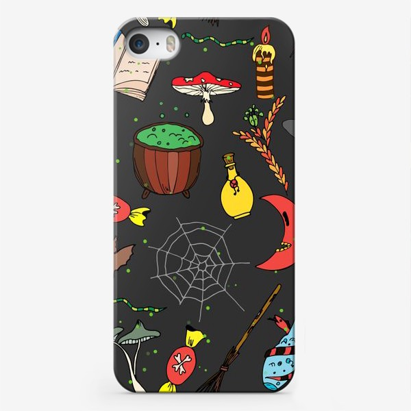 Чехол iPhone «колдовской хэллоуин»