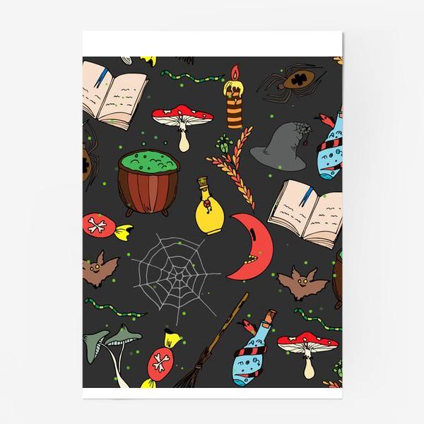 Постер «колдовской хэллоуин»