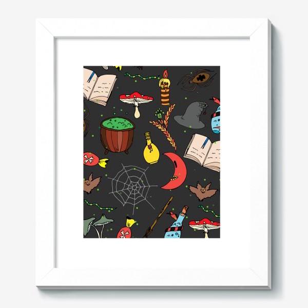 Картина «колдовской хэллоуин»