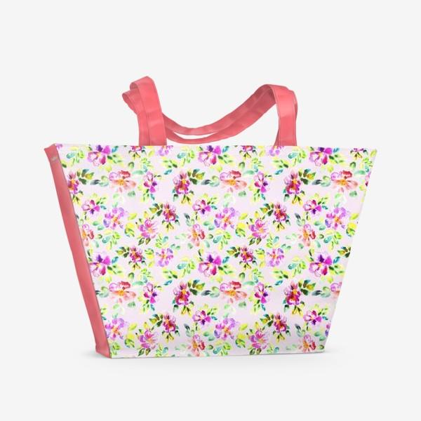 Пляжная сумка «Шиповник»