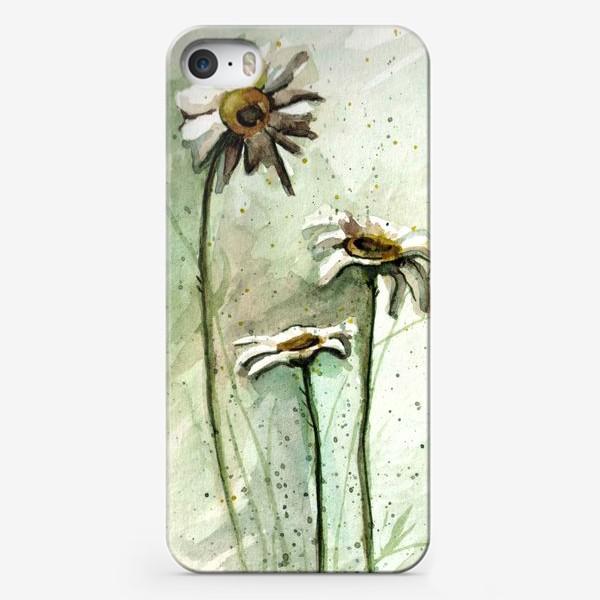 Чехол iPhone «camomiles»