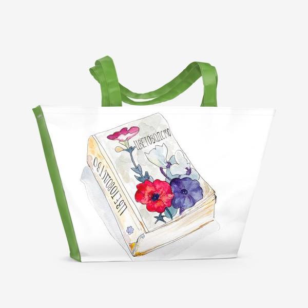 Пляжная сумка «Цветоводство»