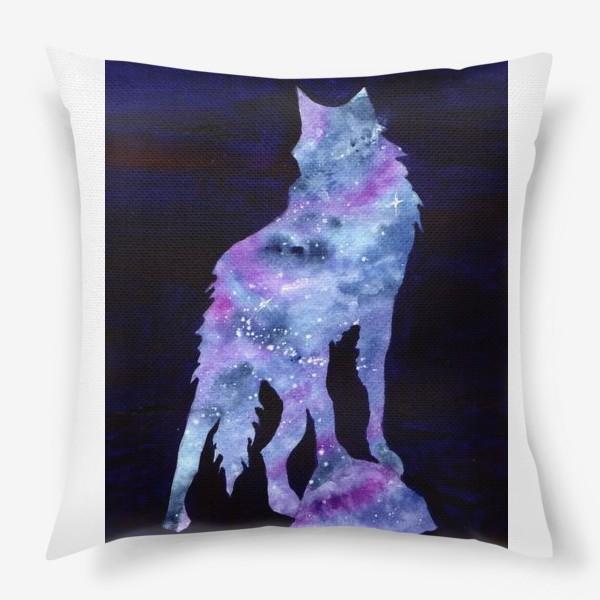 Подушка «Звездный волк»