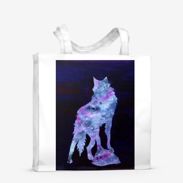 Сумка-шоппер «Звездный волк»