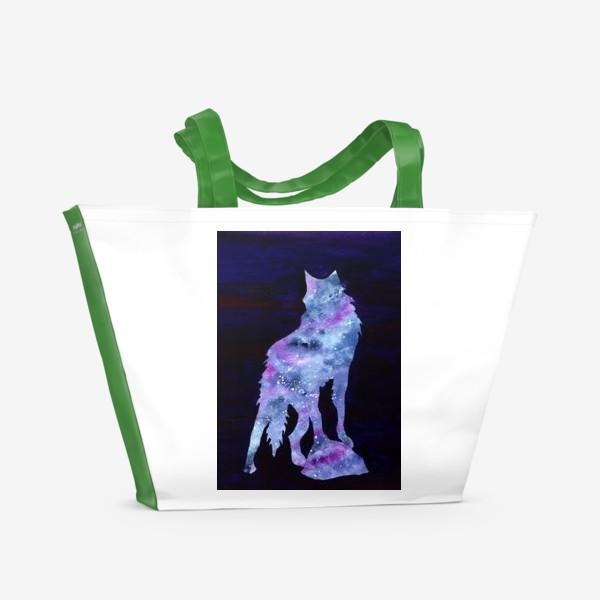 Пляжная сумка «Звездный волк»