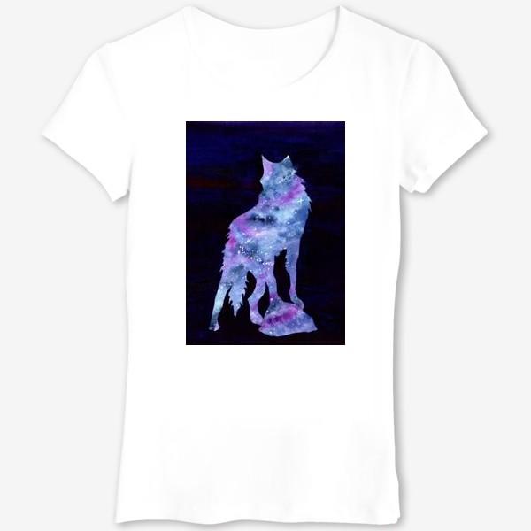 Футболка «Звездный волк»