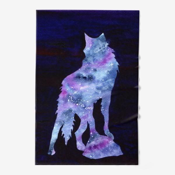 Полотенце «Звездный волк»