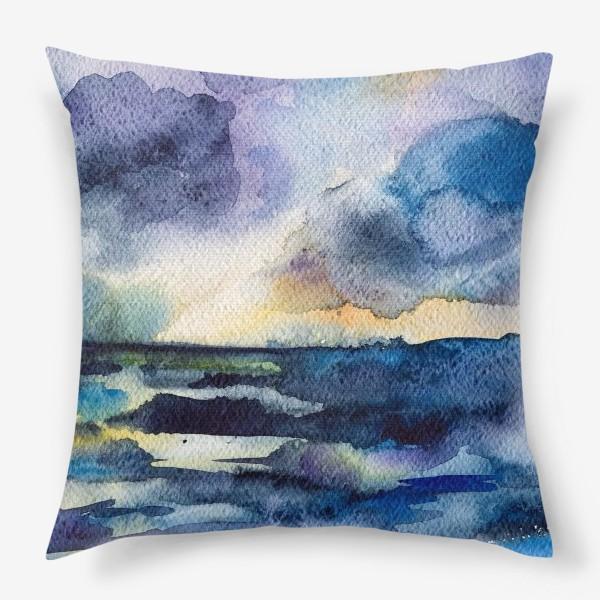 Подушка «Море волнуется»