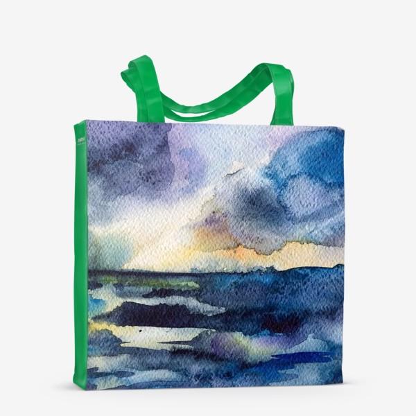 Сумка-шоппер «Море волнуется»