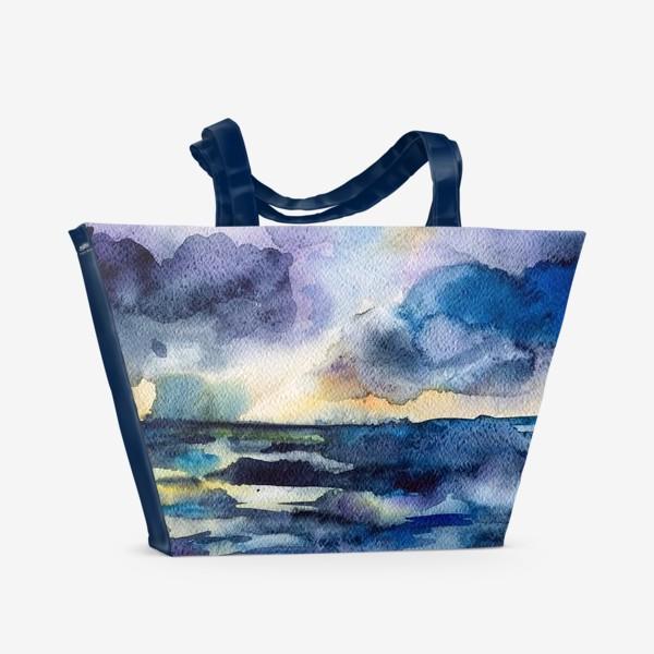 Пляжная сумка «Море волнуется»
