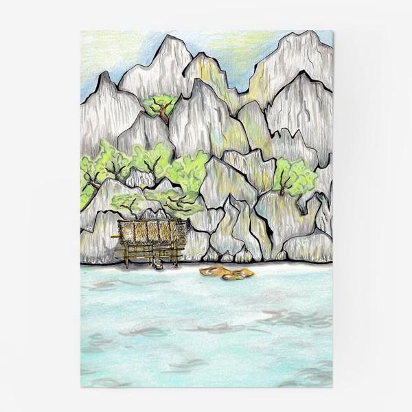 Постер «Море. Тайланд»