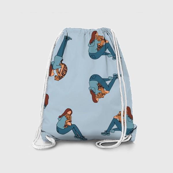 Рюкзак «Тигр тоже беззащитный малыш»