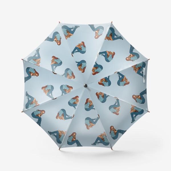 Зонт «Тигр тоже беззащитный малыш»