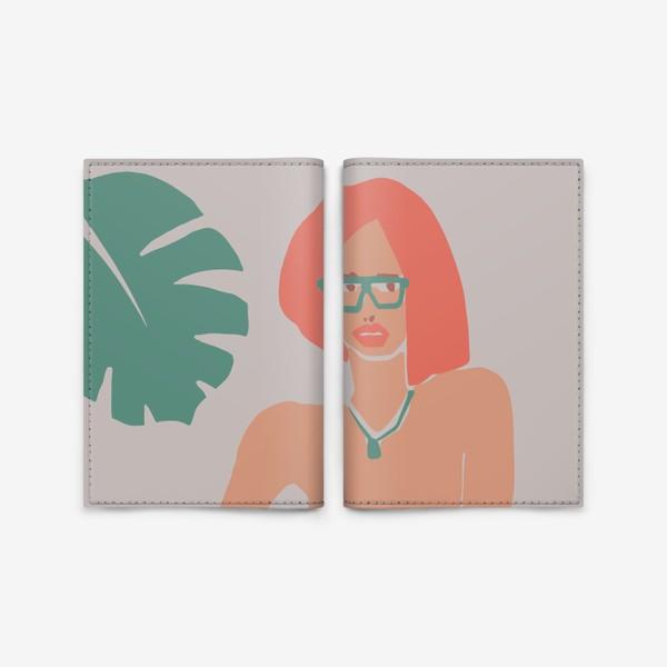 Обложка для паспорта «Рыжая девушка»
