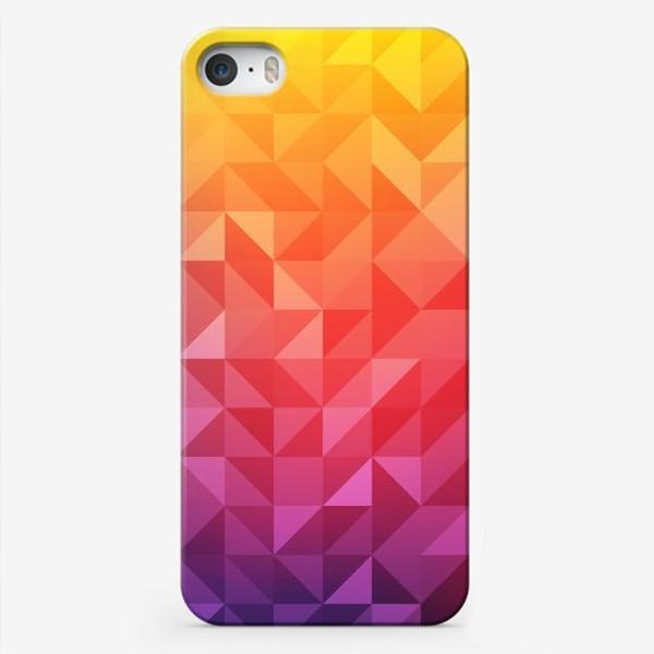 Чехол iPhone «Геометрия цвета»