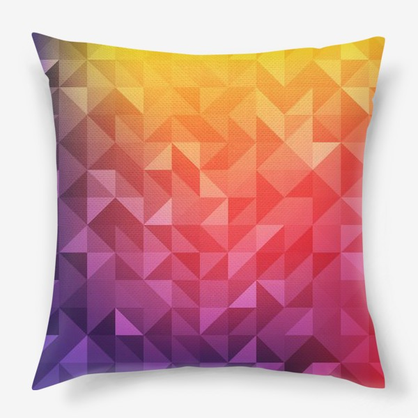 Подушка «Геометрия цвета»