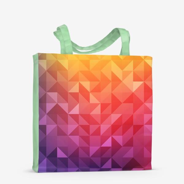 Сумка-шоппер «Геометрия цвета»
