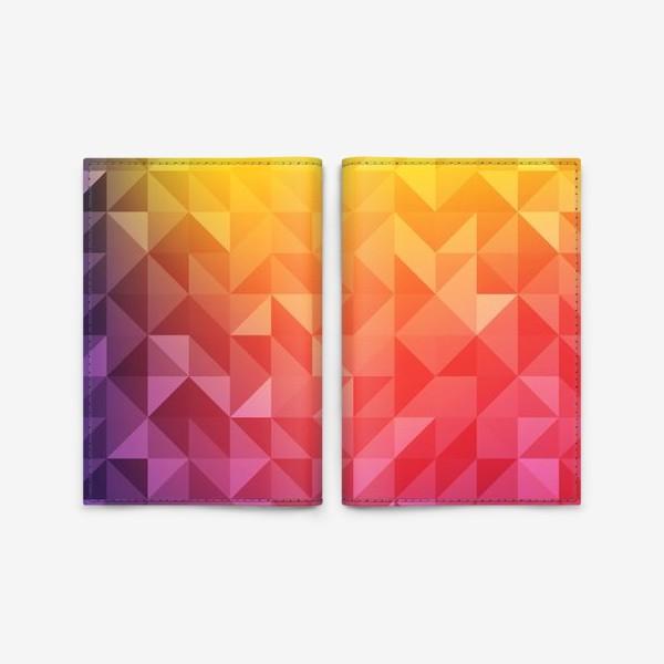 Обложка для паспорта «Геометрия цвета»