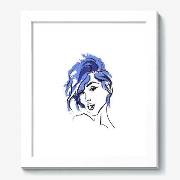 Картина «Storm | Color hair | Fashion cкетч»