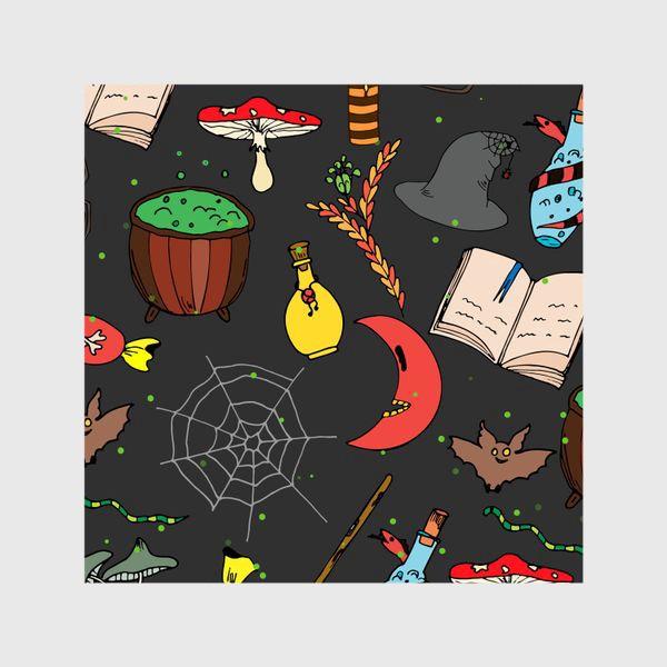 Шторы «колдовской хэллоуин»