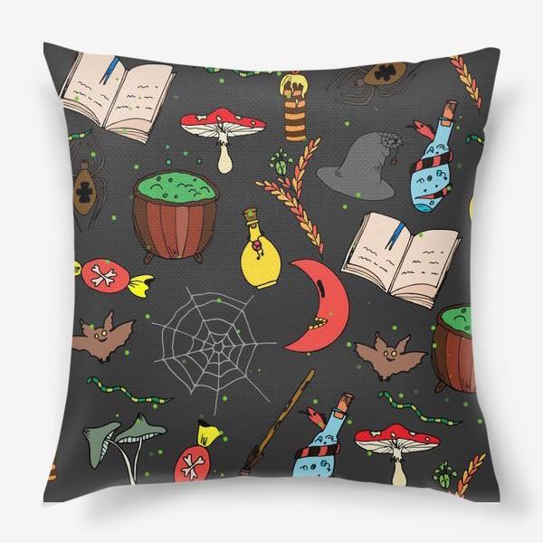 Подушка «колдовской хэллоуин»