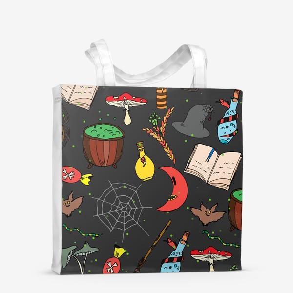 Сумка-шоппер «колдовской хэллоуин»