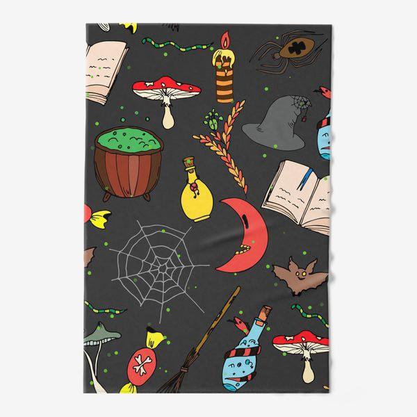Полотенце «колдовской хэллоуин»