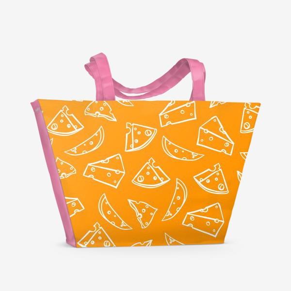Пляжная сумка «сыр»
