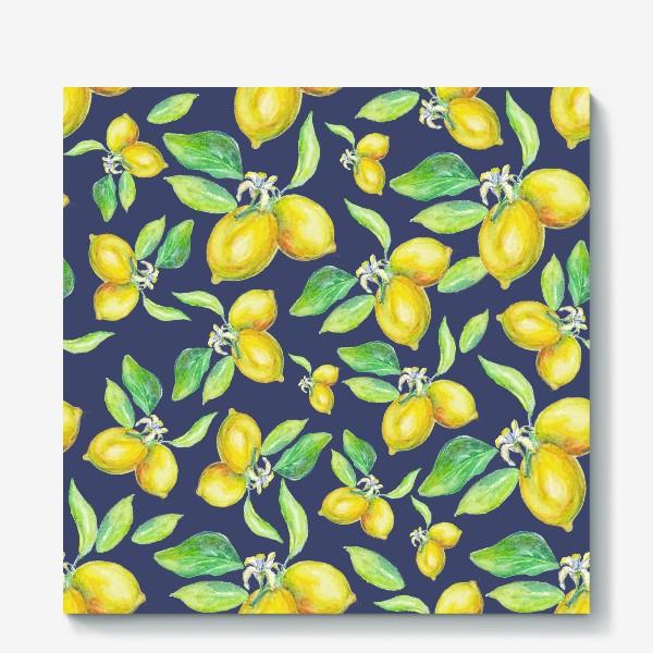 Холст «лимонное настроение»